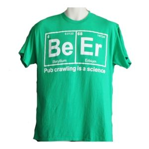 Beer T Shirt Size Medium Periodic Table Science